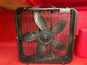 Intertek Electric Box Fan - Black